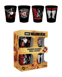 The Walking Dead Daryl Dixon Shot Glasses