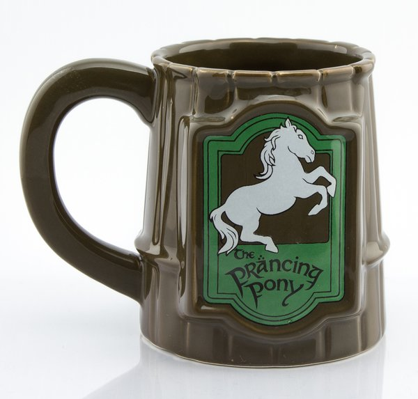 Lord of the Rings Prancing Pony 3D Mug