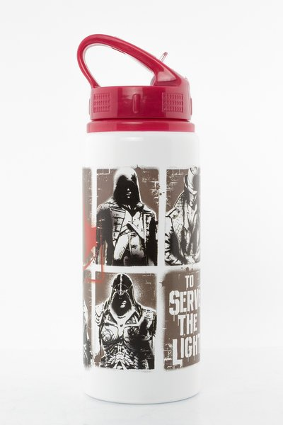 Assassins Creed Stencil Aluminium Drink Bottle