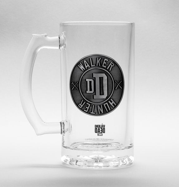 The Walking Dead Walker Hunter Stein Glass