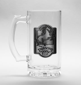 Lord Of The Rings Prancing Pony Stein Glass