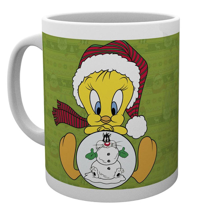 Looney Tunes Tweety Christmas Mug