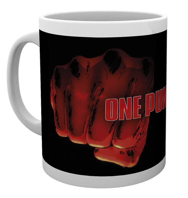 One Punch Man Fist Mug