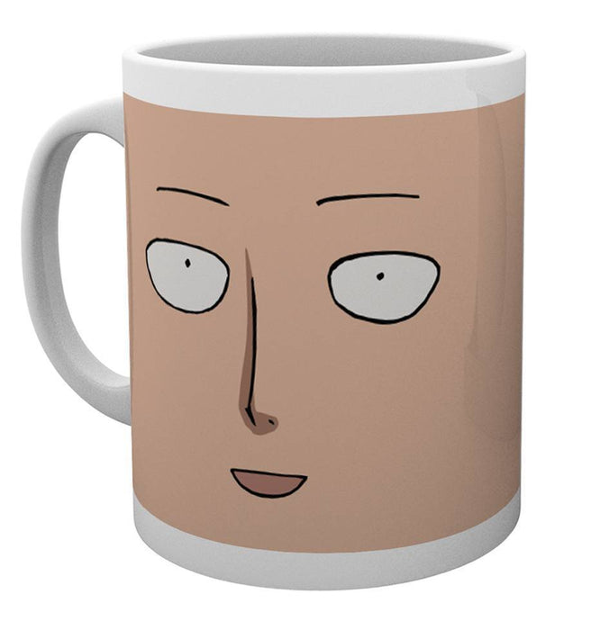 One Punch Man Face Mug