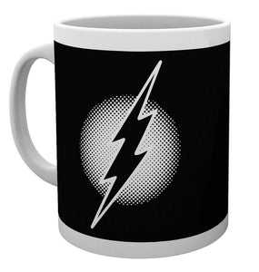 DC Comics Flash Monotone Logo Mug
