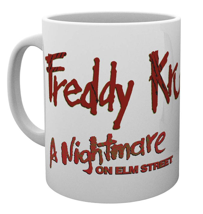 Nightmare On Elm Street Freddy Mug