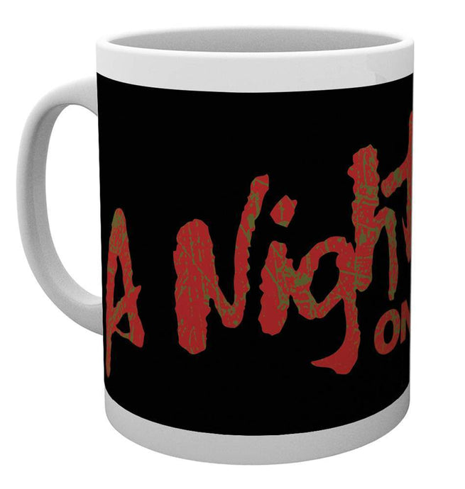 Nightmare On Elm Street Logo Mug