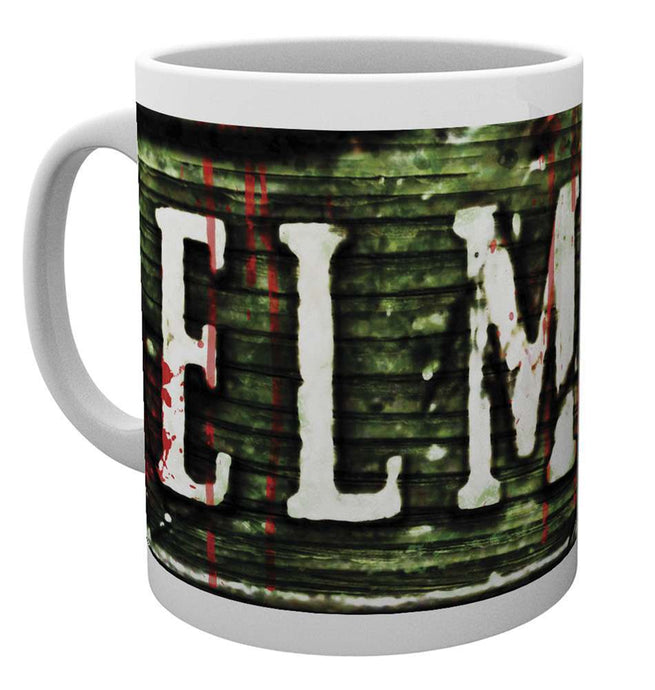 Nightmare On Elm Street Sign Mug