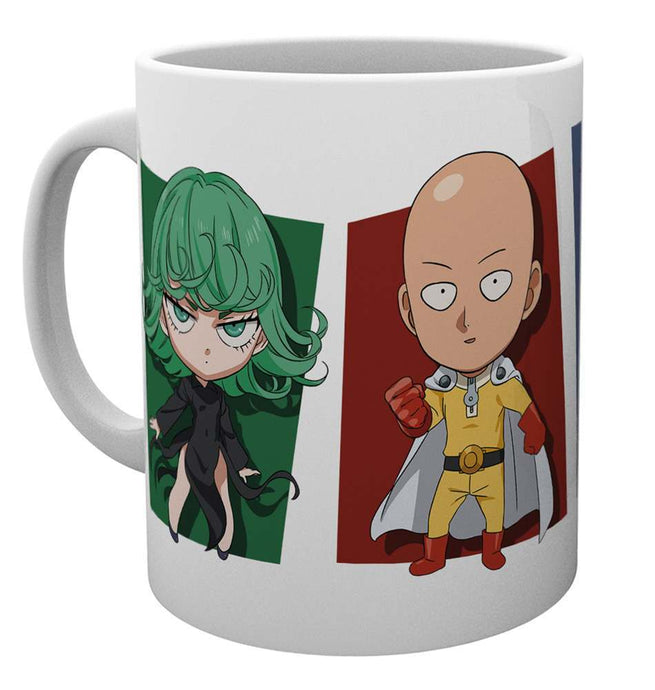 One Punch Man Chibi Characters Mug