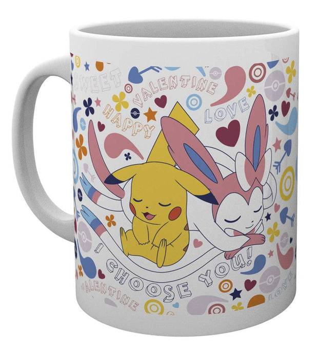 Pokemon Valentine Choose You Mug