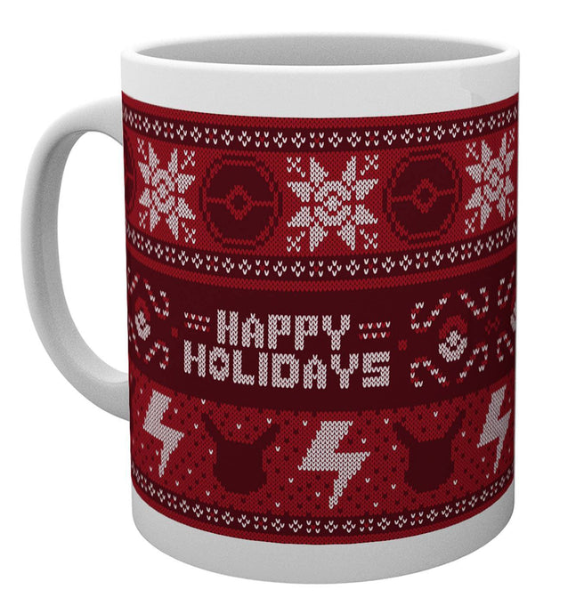 Pokemon Xmas Jumper Mug