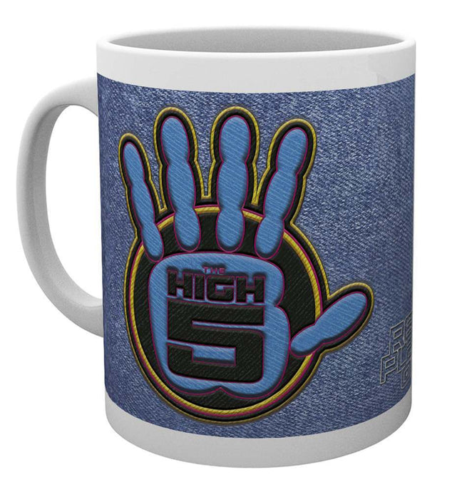 Ready Player One The High Five Logo Mug