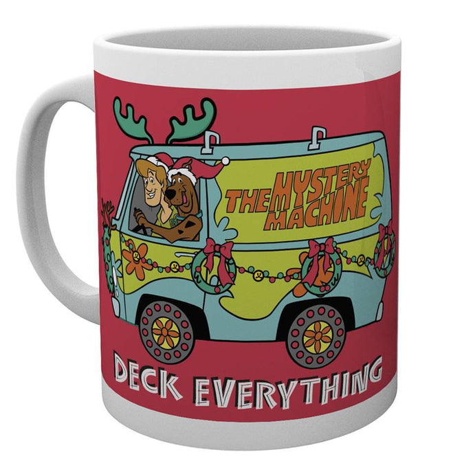 Scooby Doo Deck Everything Christmas Mug