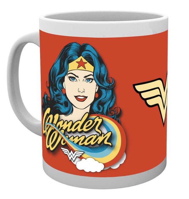 Wonder Woman Face Mug