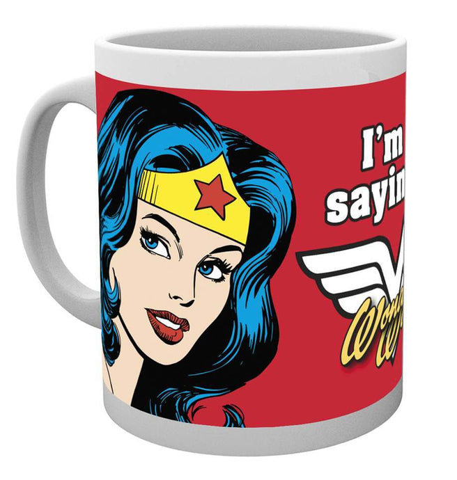 Wonder Woman Not Saying Mug