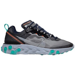 Nike React Element 87 Neptune Green Navy Black Grey Mens Style :AQ1090