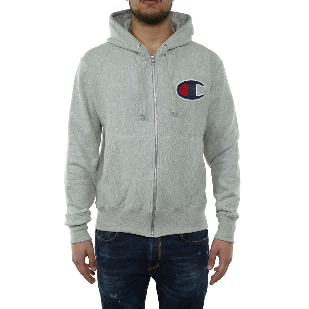 Champion Full Zip Hoodie Mens Style : Gf69y07476-1IC