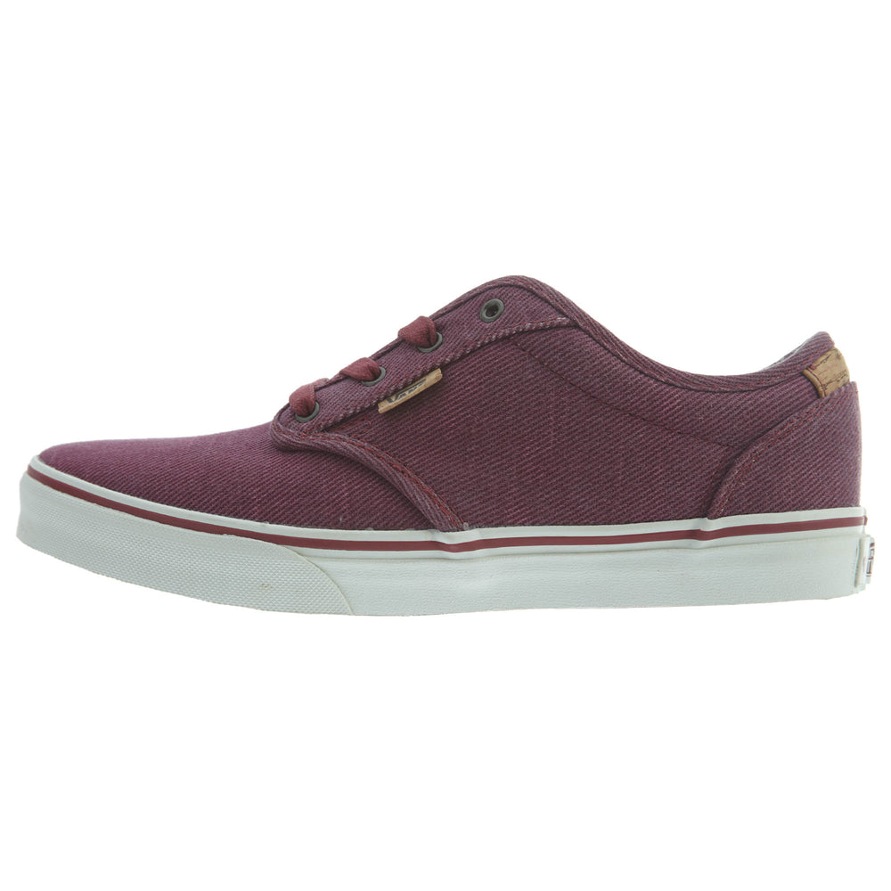 Vans Atwood Deluxe (Washed Twill) Big Kids Style : Vn000zst-ILO
