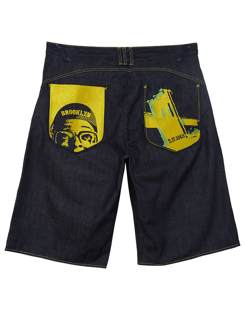 Jordan Spike Lee Brooklyn Denim Shorts Mens Style : 236579