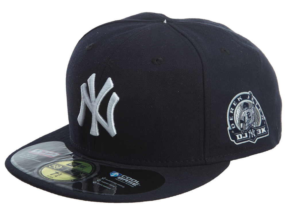 New Era  NY Yankees 59Fifty Derek Jetter DJ 3K Fitted Hat : NE-2006