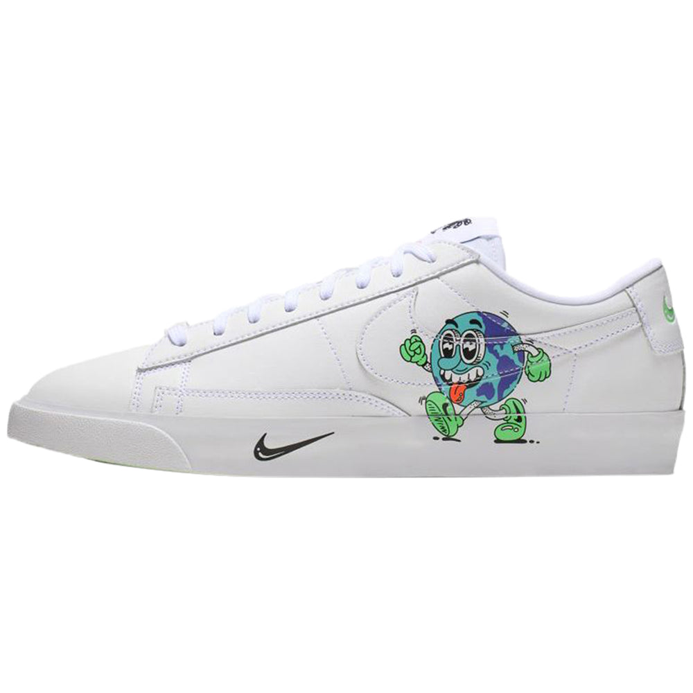 Nike Blazer Low Flyleather Qs Steve Harrington Earth Day (2019) Mens Style : Ci5546-100