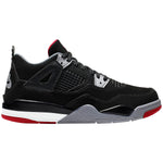 Jordan 4 Retro Bred 2019 Little Kids Style : Bq7669-060