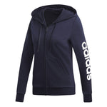 Adidas Essential Linear Full Zip Hoodie Womens Style : Du0648