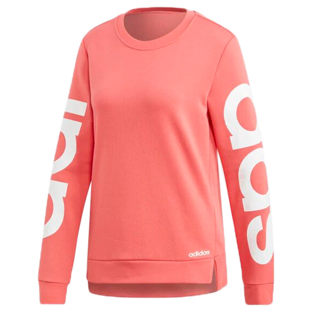Adidas Essentials Brand Sweatshirt Womens Style : Du0643