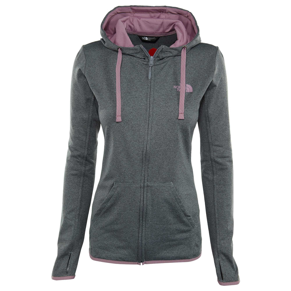 North Face Fave Lite Lfc Full Zip Hoodie Womens Style : A2zme