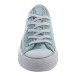 Converse All Star Ox Basketball Shoe  Womens Style : 553347c-Metallic Glacier/White/White