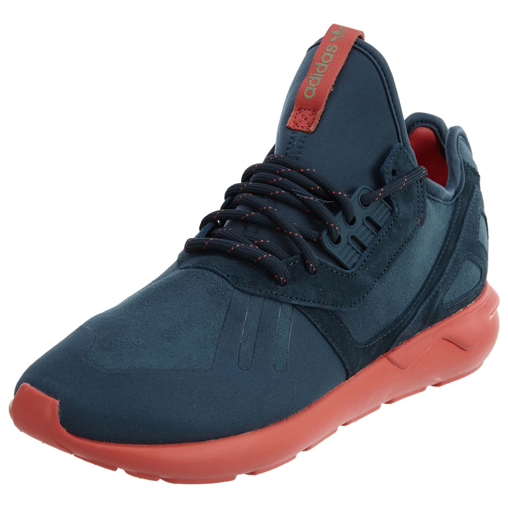 Adidas Tubular Runner midnight navy sea coral Mens Style :S81680