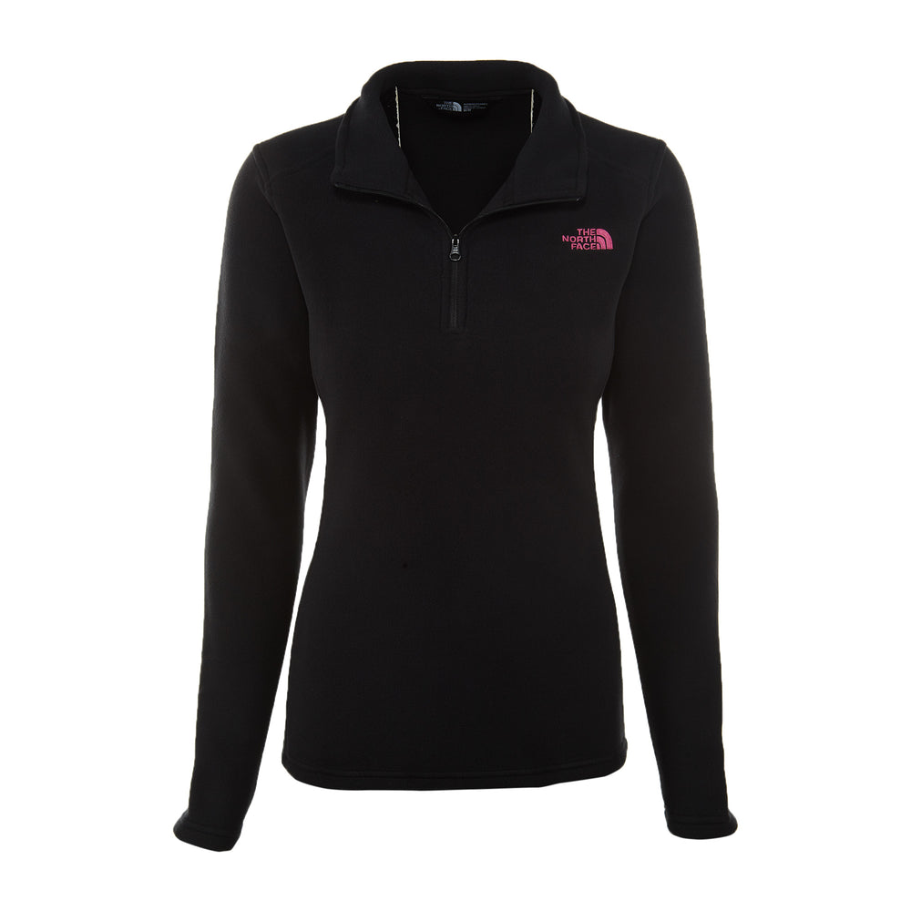 North Face Pink Ribbon Glacier ¼ Zip Womens Style : A2sn8