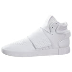 Adidas Original Tubular Invader Strap White Leather Mens Style :BW0872