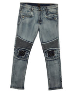 Ubuntu Revolution Biker With Studs And Zip Pockets  Mens Style : 7115