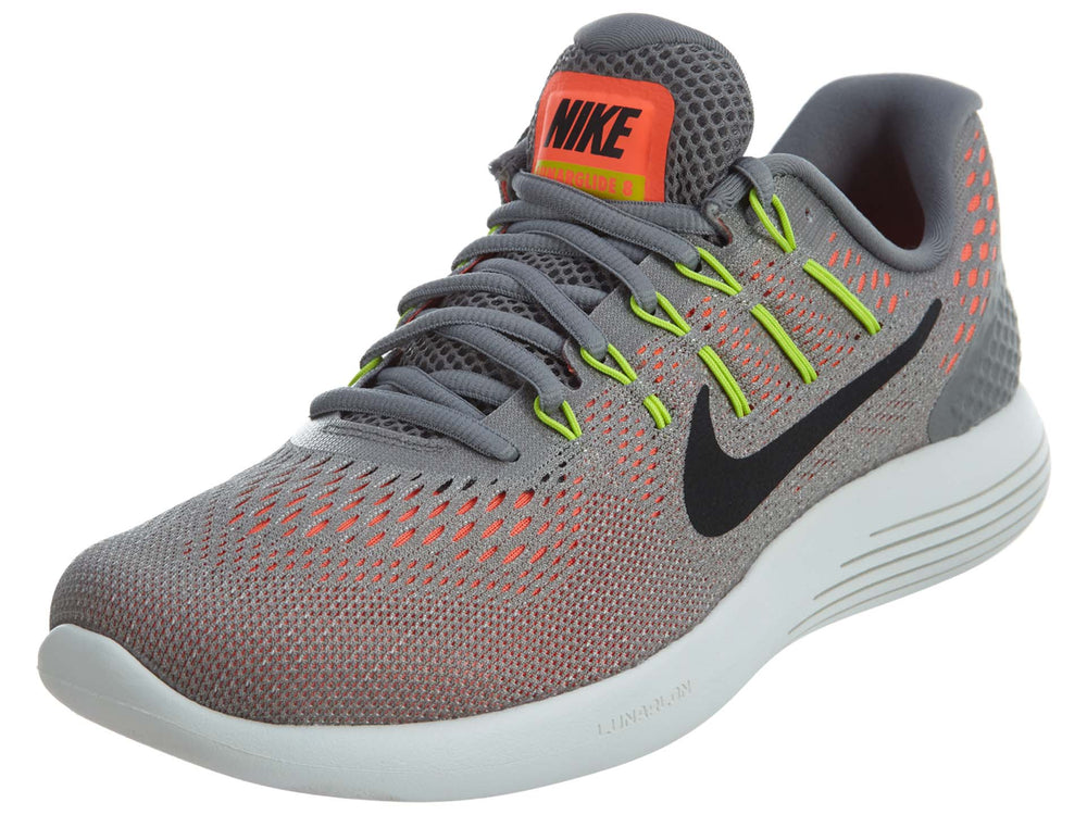 Nike Lunarglide 8 Dust Hyper Orange Mesh Mens Style :843725
