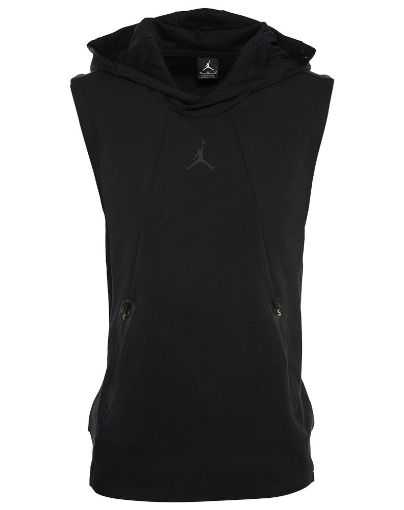 Jordan Ultimate Flight Fleece Sleeveless Hoodie Mens Style : 724787