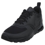 Nike Air Max Vision All Black Athletic Shoes Boys / Girls Style :917857