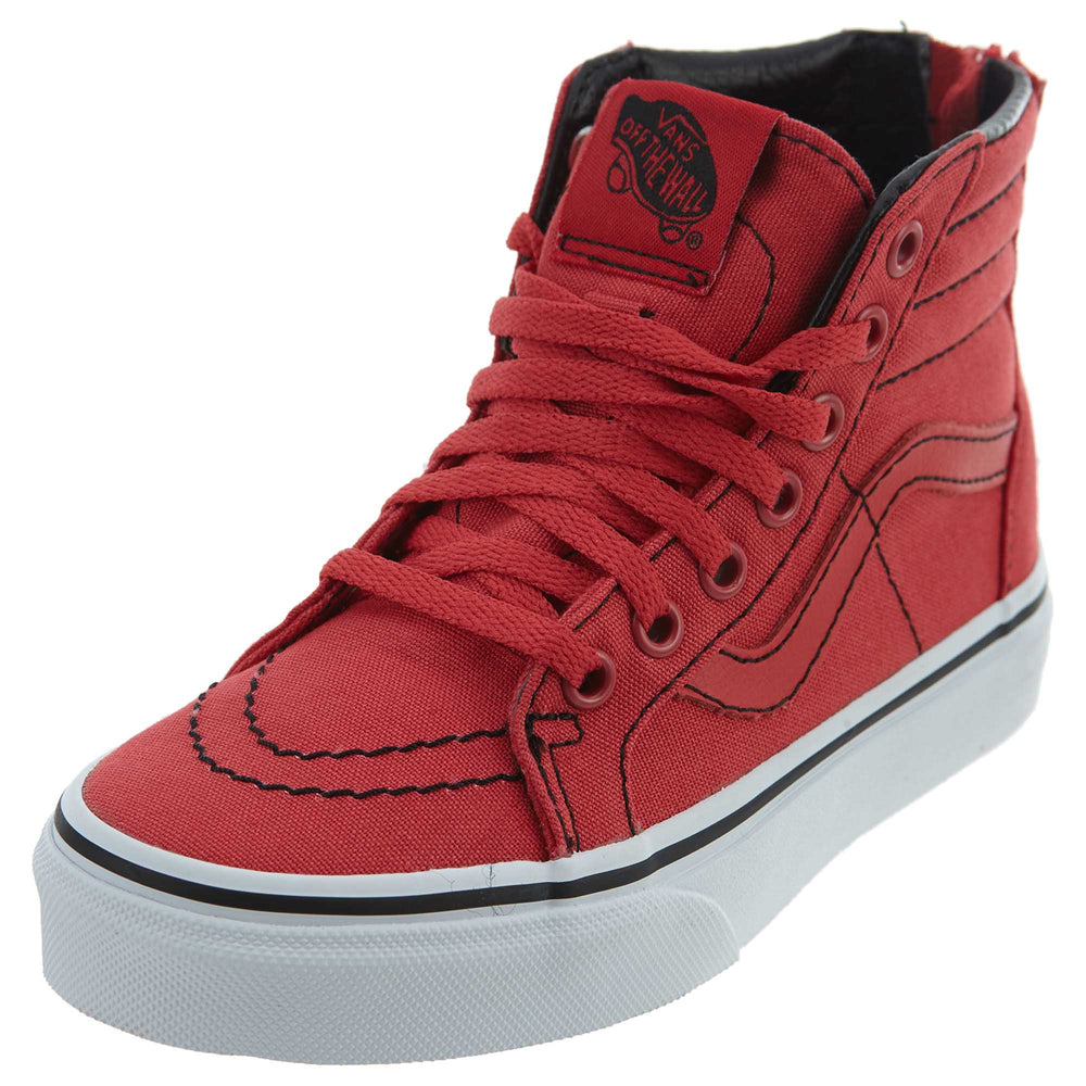 Vans Sk8-hi Zip Skate Shoe Little Kids Style : Vn0a3276