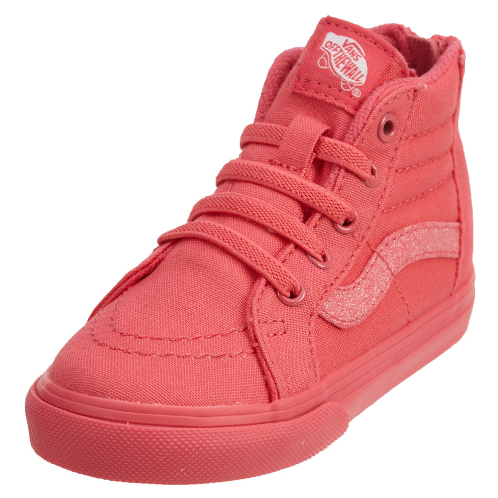 Vans Sk8‑hi Zip(foil) Shoes Toddlers Style : Vn0a32r3