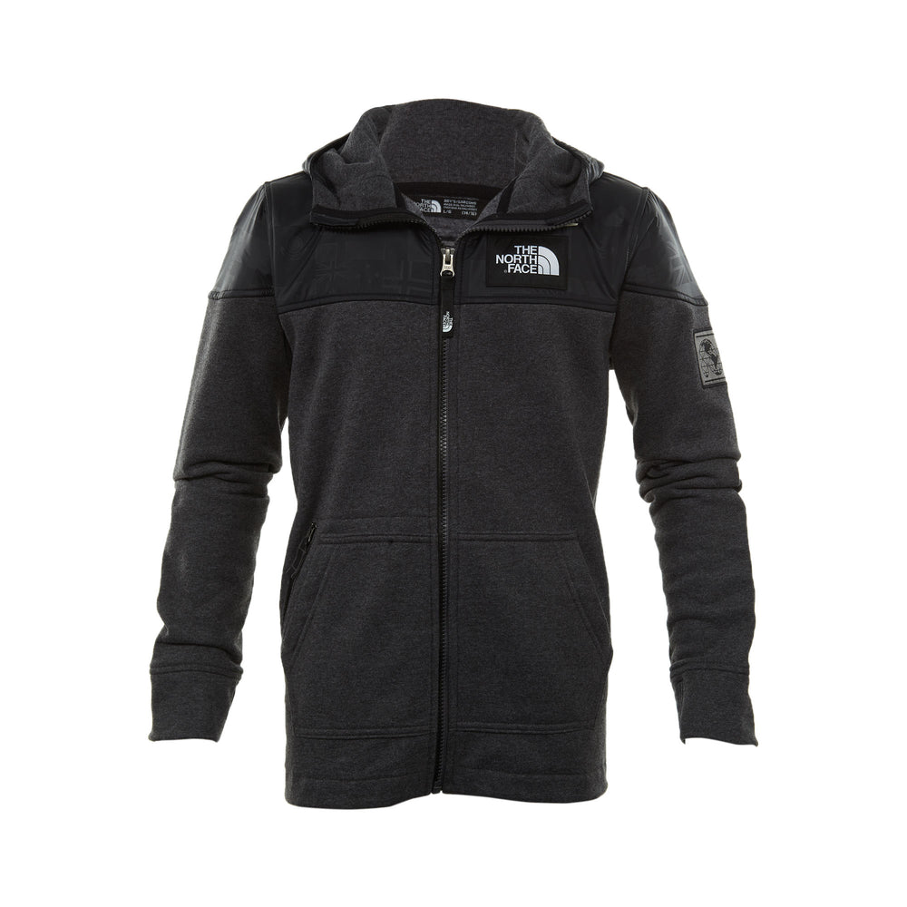 North Face International Collection Full Zip Hoodie Big Kids Style : A3c12