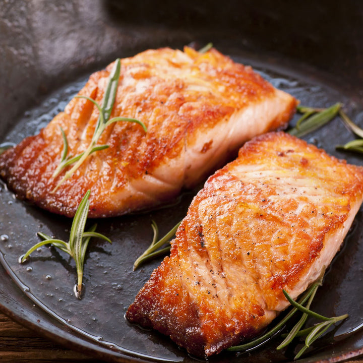 Salmon Portion Regular Skinless