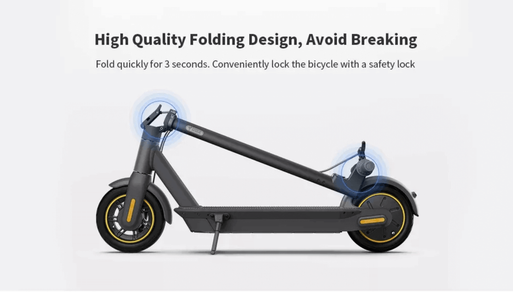 Segway MAX Folding Design