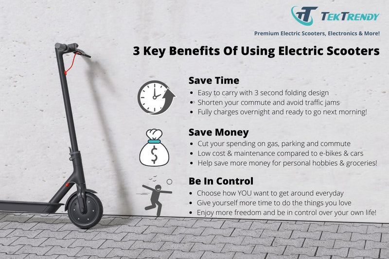 3 Key Benefits of Electric Scooter | TekTrendy | Toronto