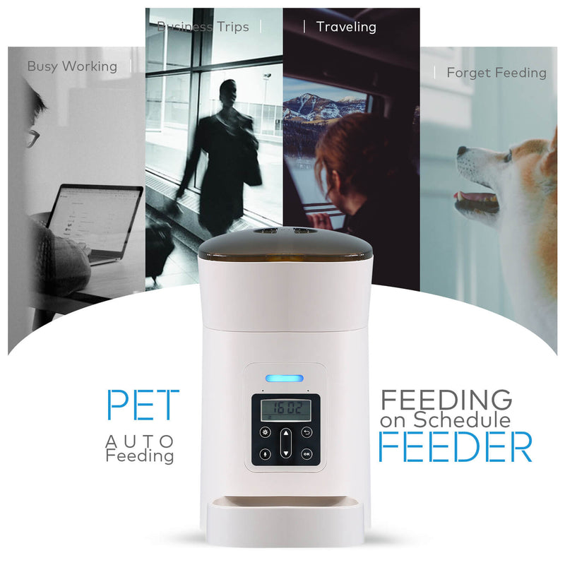Automatic Pet Feeder | TekTrendy Canada