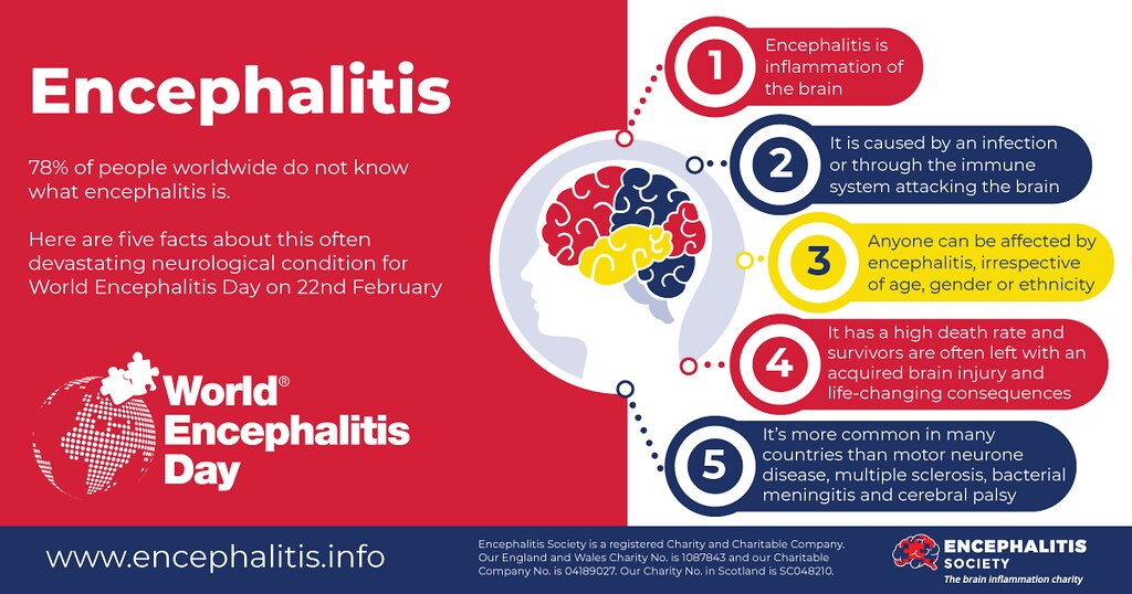#RED4WED – World Encephalitis Day 2021