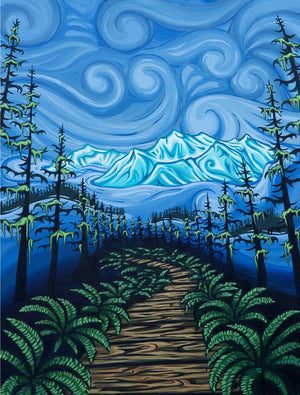 """Boardwalk to Heaven"" Giclée Print"