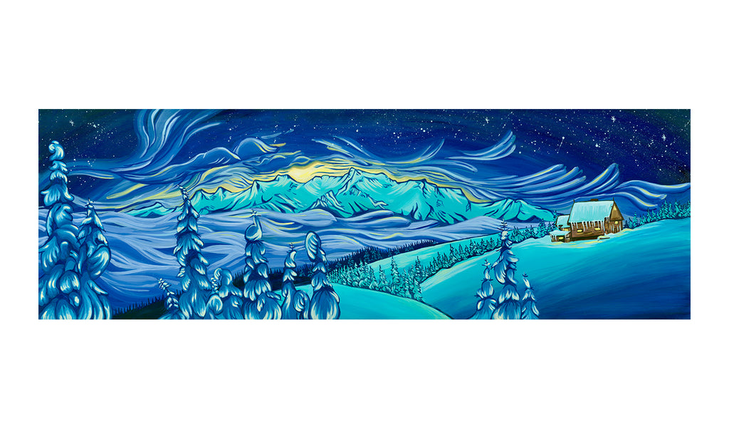 """Hurricane Ridge"" Print"