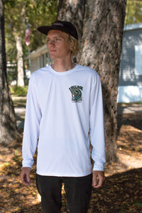 Village White Tube Time Long Sleeve UV Shirt