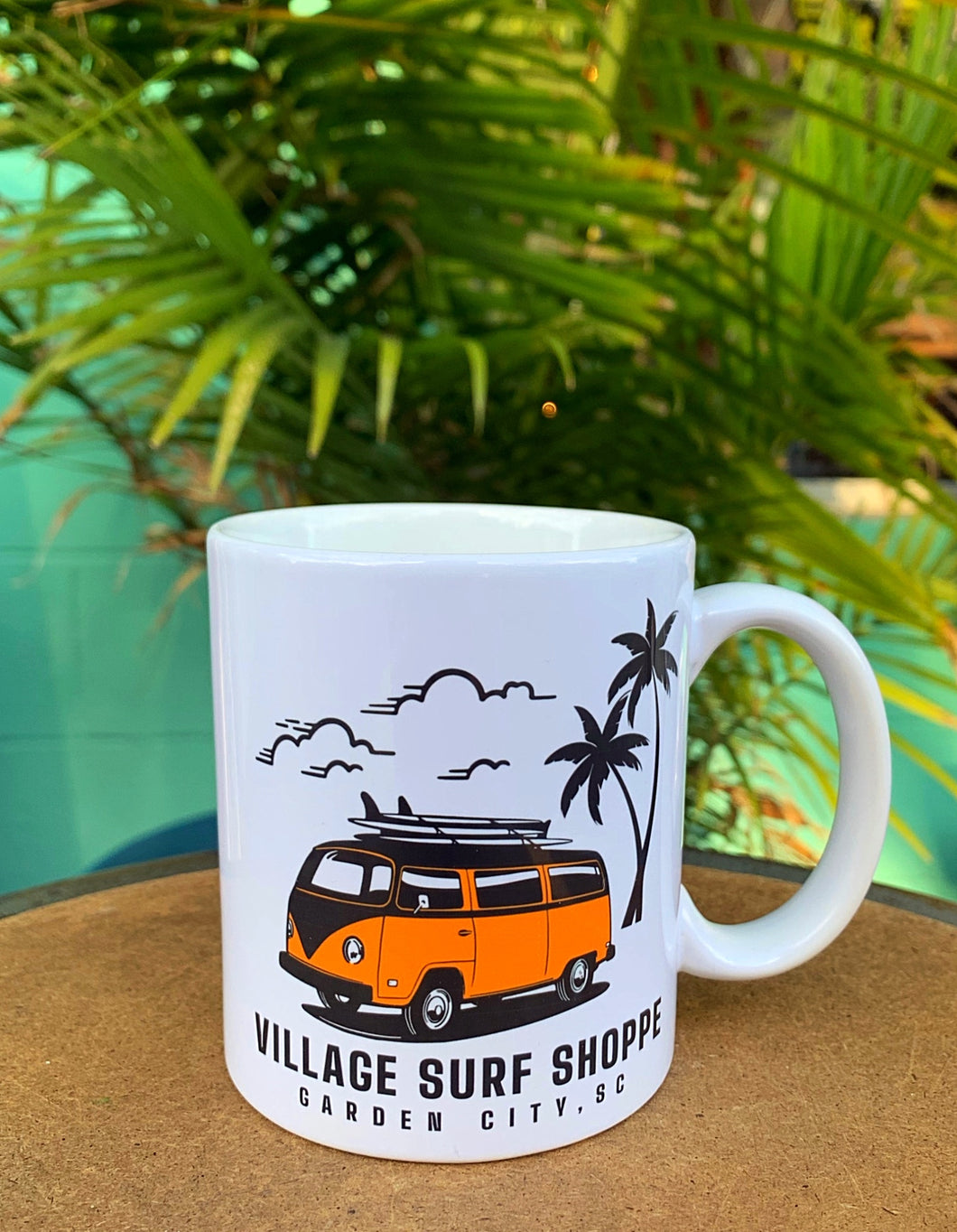 Village VW Paradise 13oz Ceramic Mug