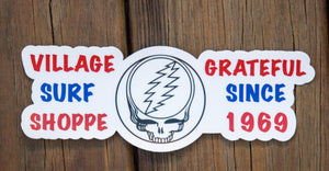 Village Grateful Since 1969 Sticker